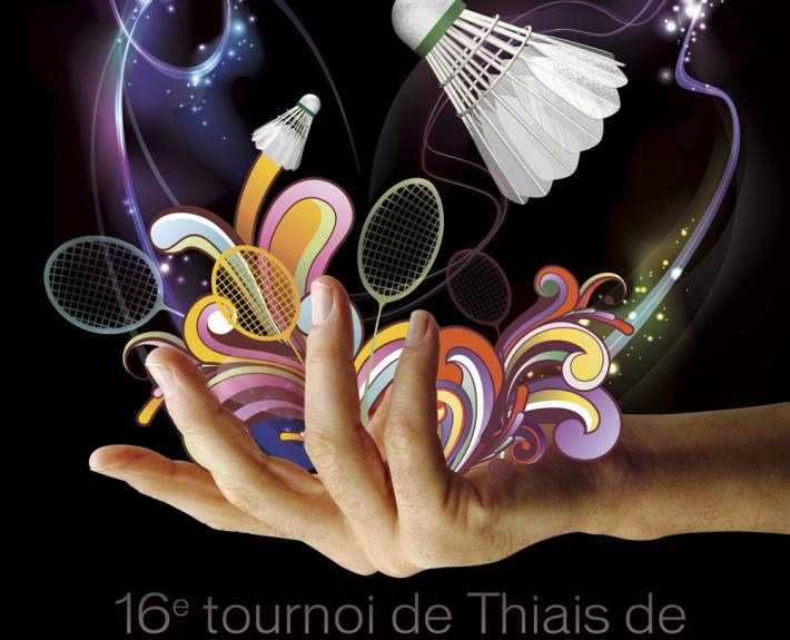 ATB affiche badminton